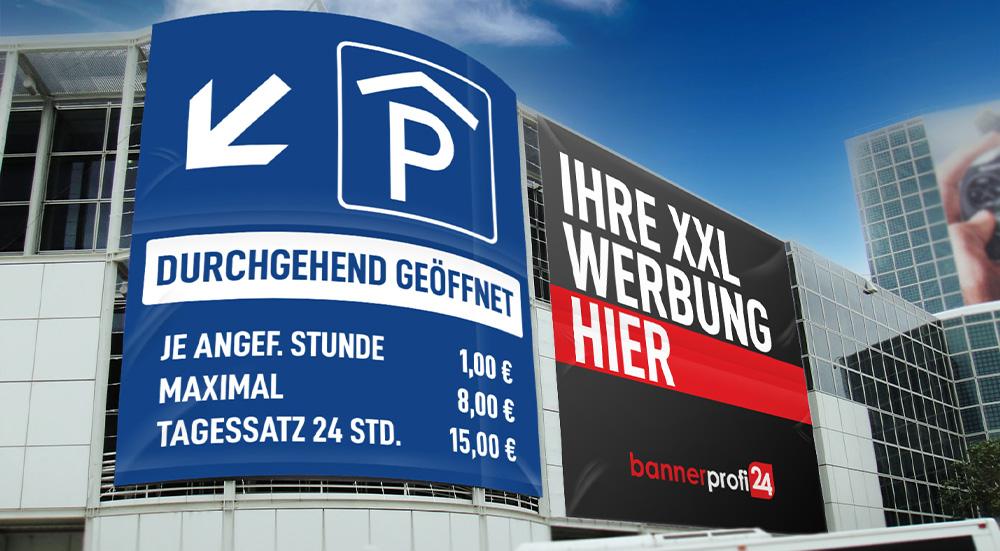 XXL Banner in Wunschgröße