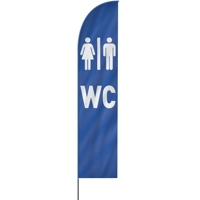 Straight | WC Toilette Beachflag